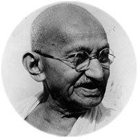 Махатма Ганди. Известные люди - о домашнем обучении