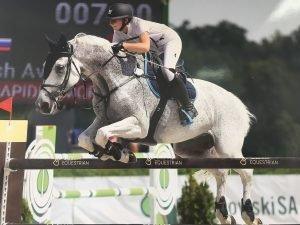 Авакян Ануш – мастер спорта по конкуру